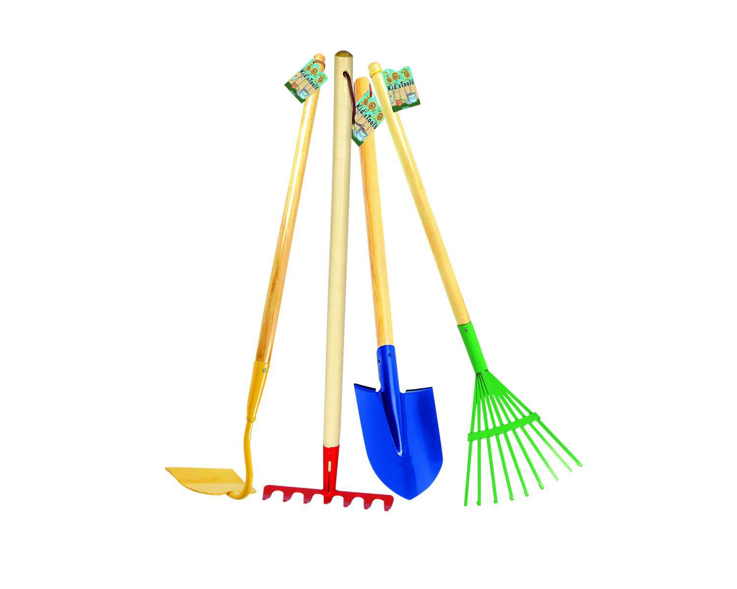 Garden tool set school specialty marketplace for Large rake garden tool
