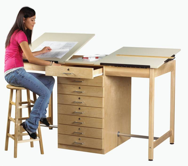 Furniture gt Office Table Station Drawing
