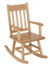 ECR4Kids Classic Oak Child Rocking Chair