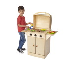 Childcraft Play Grill and Food Set
