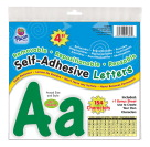 Pacon Self-Adhesive Upper and Lowercase Letters, Green, Set of 154
