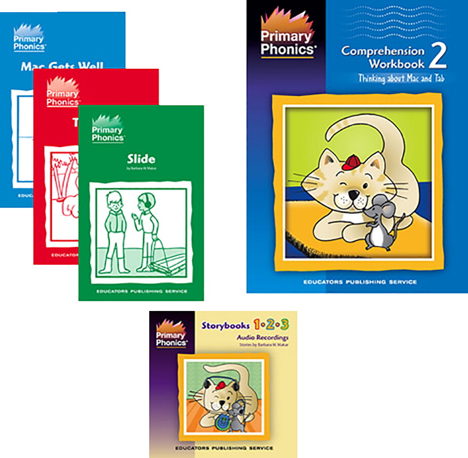 Storybooks 1-2-3 Classroom Set, Primary Phonics - SCHOOL SPECIALTY ...