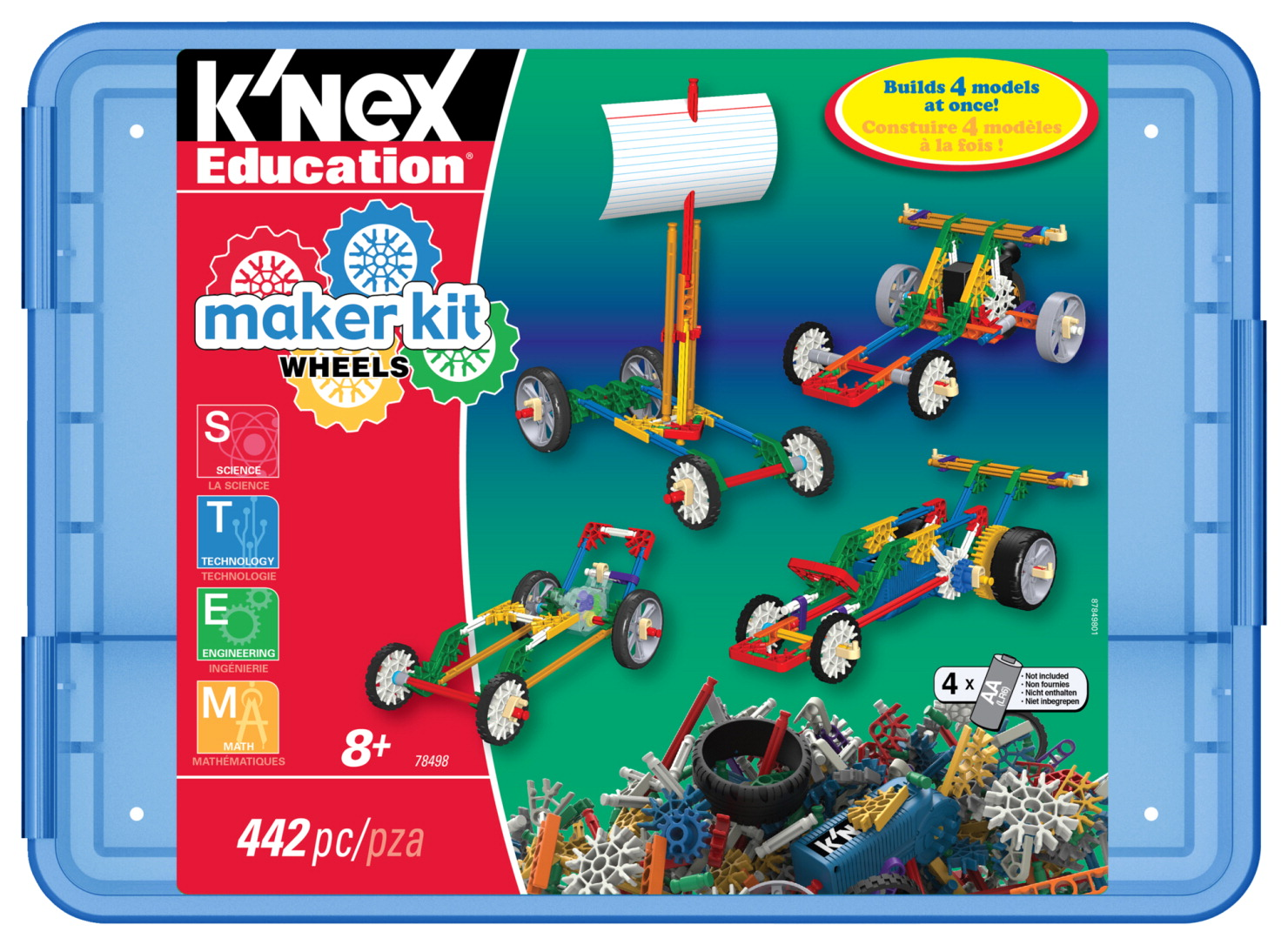 K'NEX Maker Kit Wheels