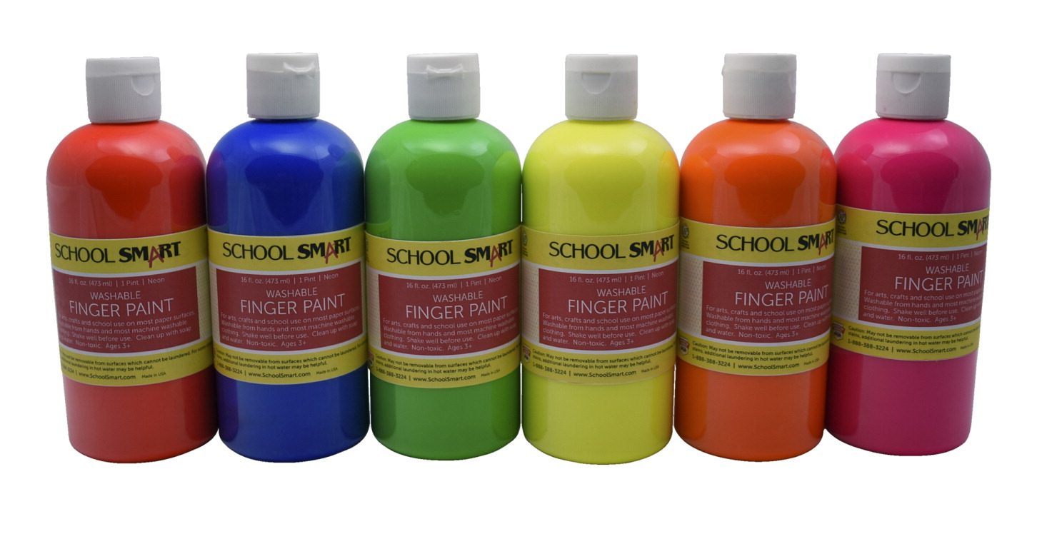 school smart finger paint soar life products