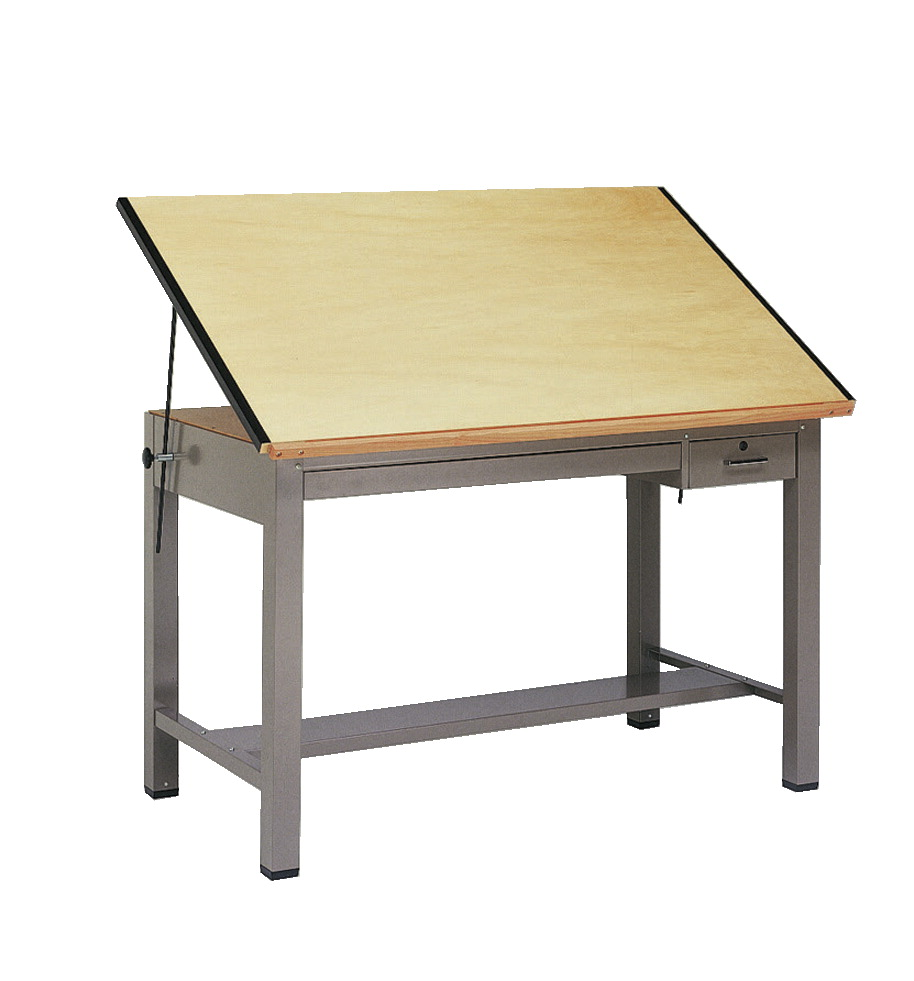 Mayline Ranger 4 Post Drafting Table 48 X 37 12 37