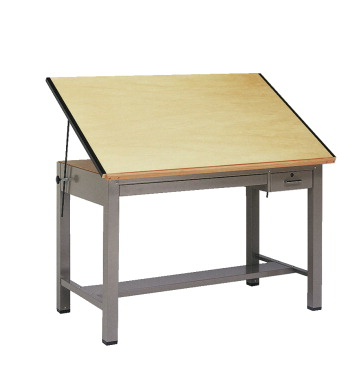 Mayline Ranger 4 Post Drafting Table 42 X 30 37 Inches