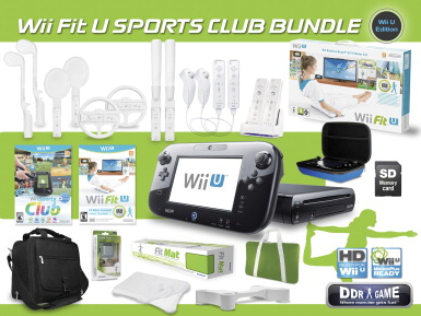 Wii Fit U Sports Club Bundle, Wii U Edition - SCHOOL ...