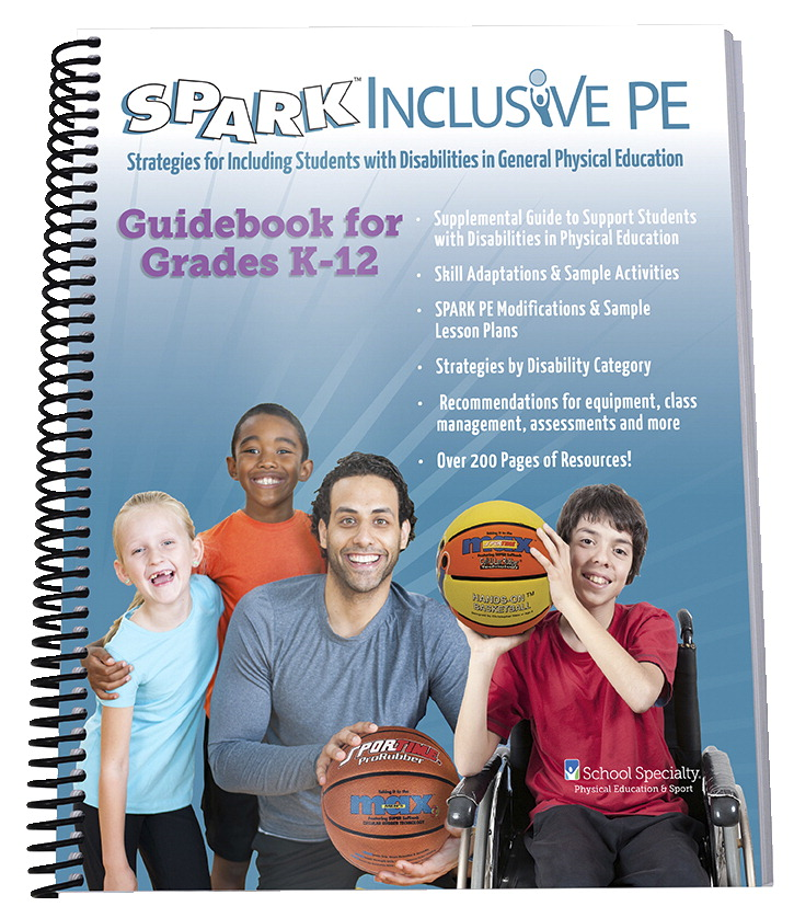 SPARK Inclusive PE Guidebook Set 2