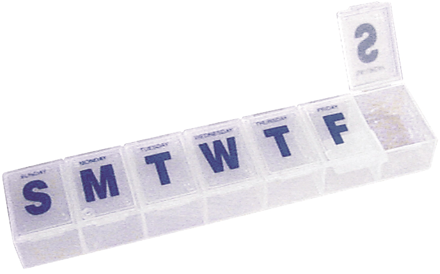 Jumbo Pill Box, 7 day, Large Capacity