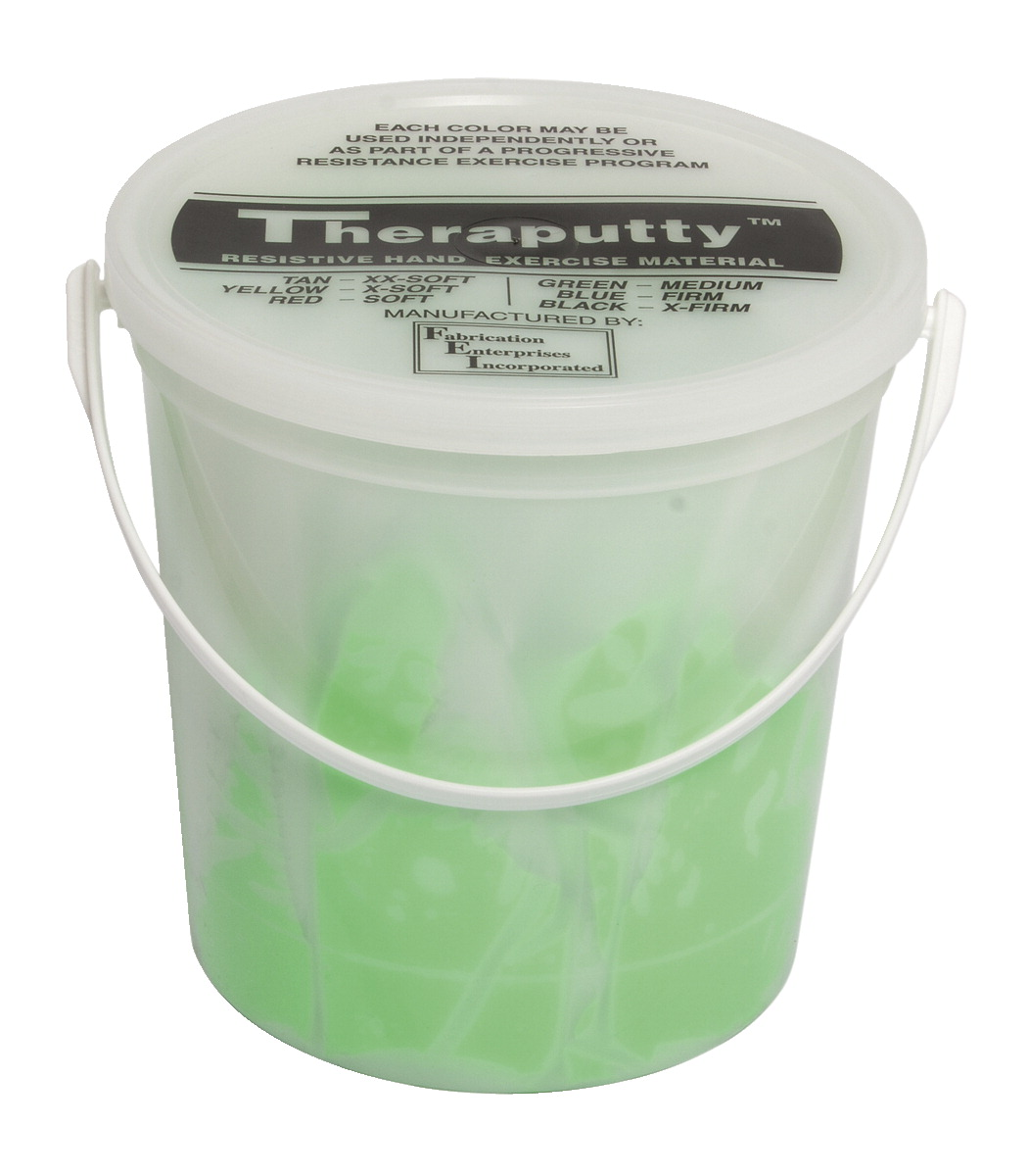 CanDo Scented Theraputty, Medium, 5 lb, Apple, Green