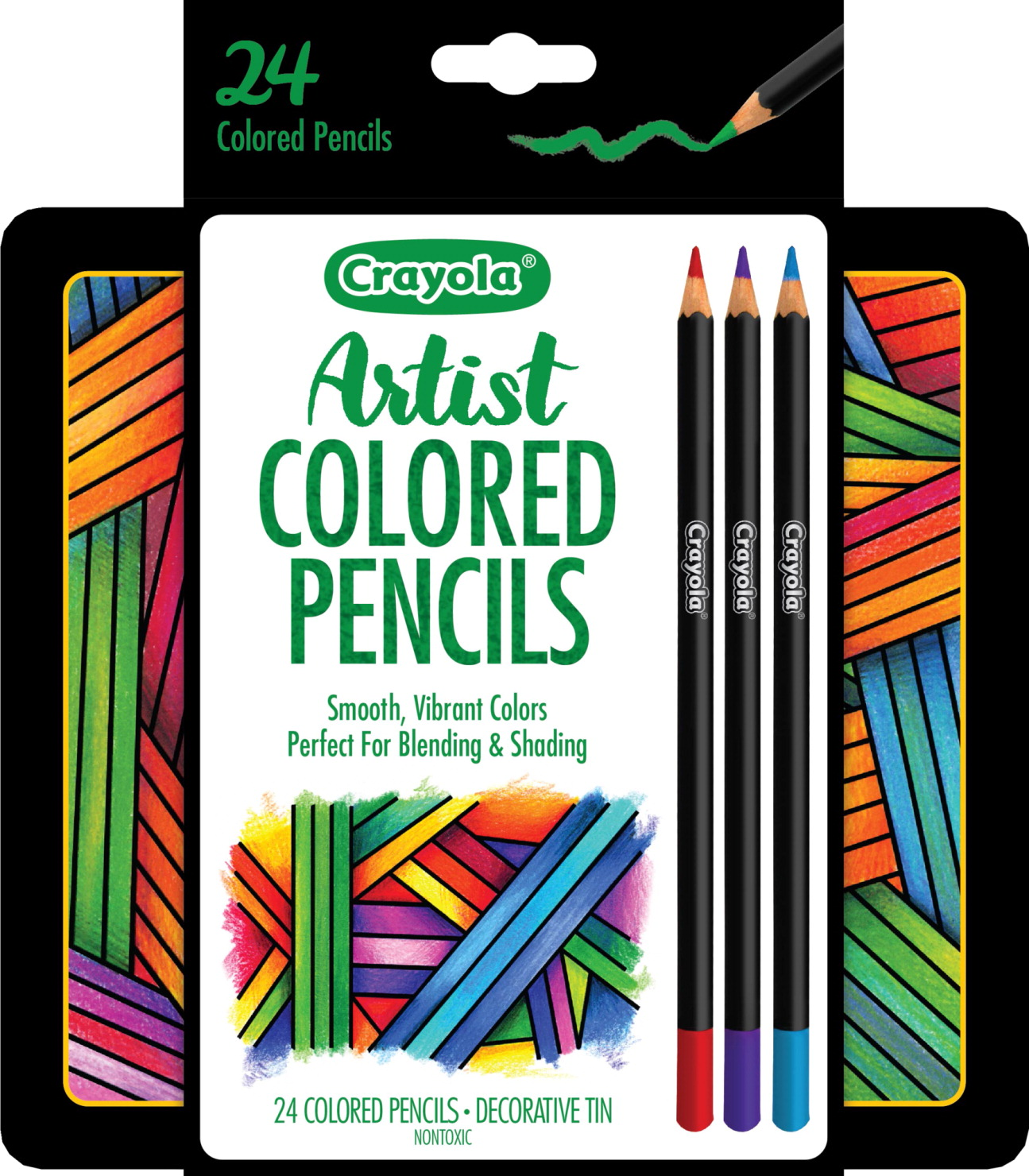 Crayola Colored Pencils, Assorted Colors - SOAR Life Products