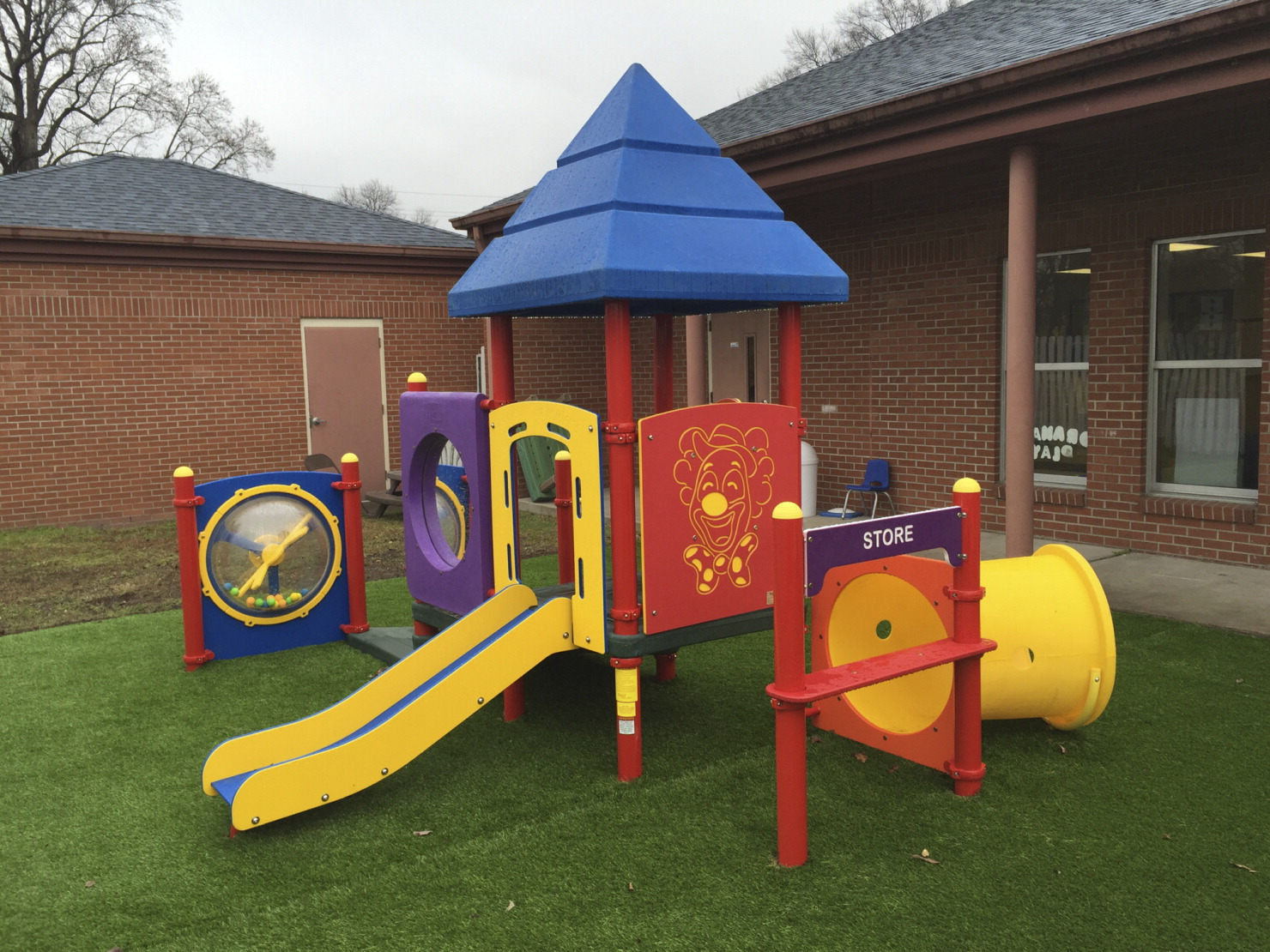 Kidstuff Playsystems Toddler Playground 7 Activities Various Options School Specialty Marketplace
