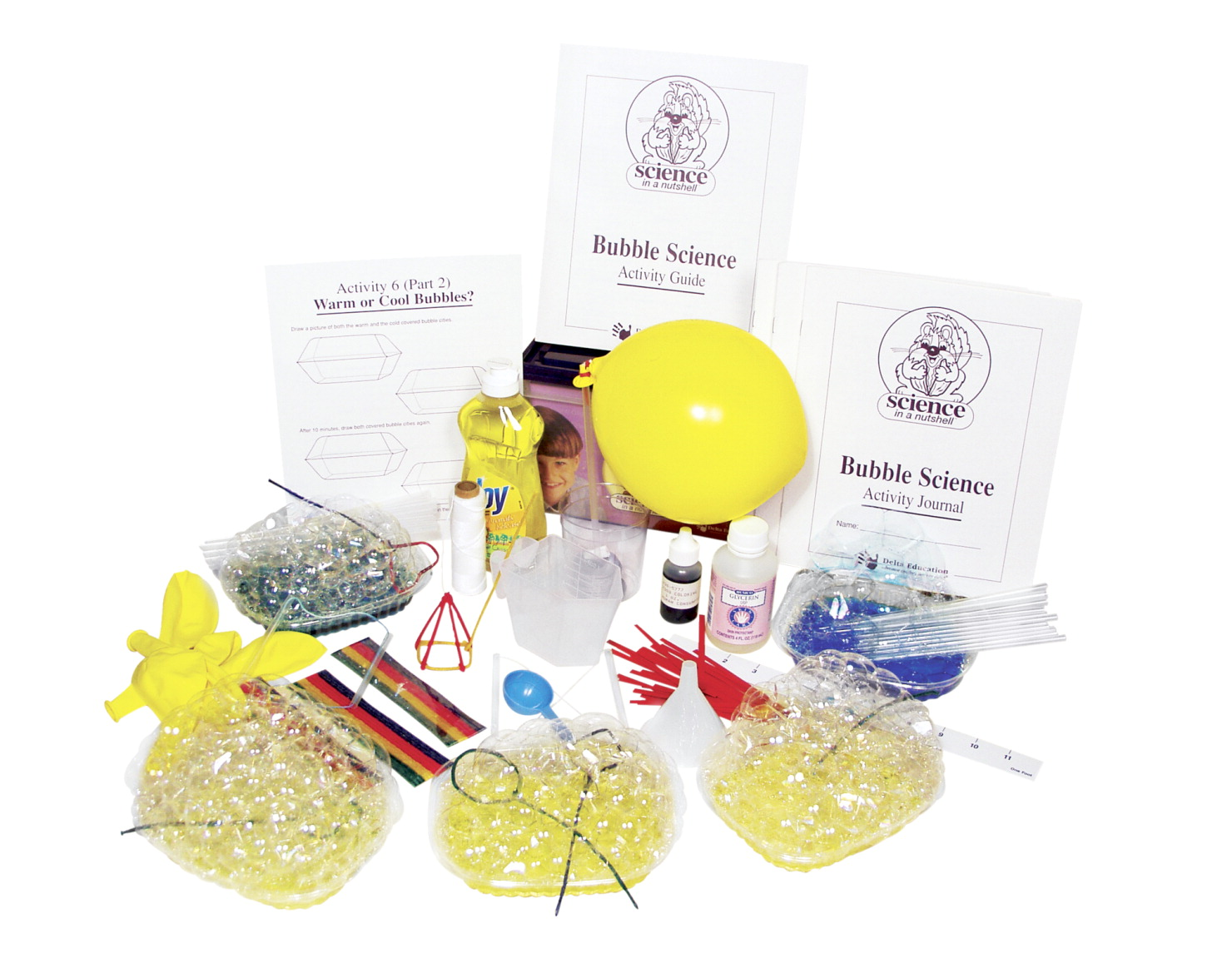 Delta Science in a Nutshell Bubble Science Kit