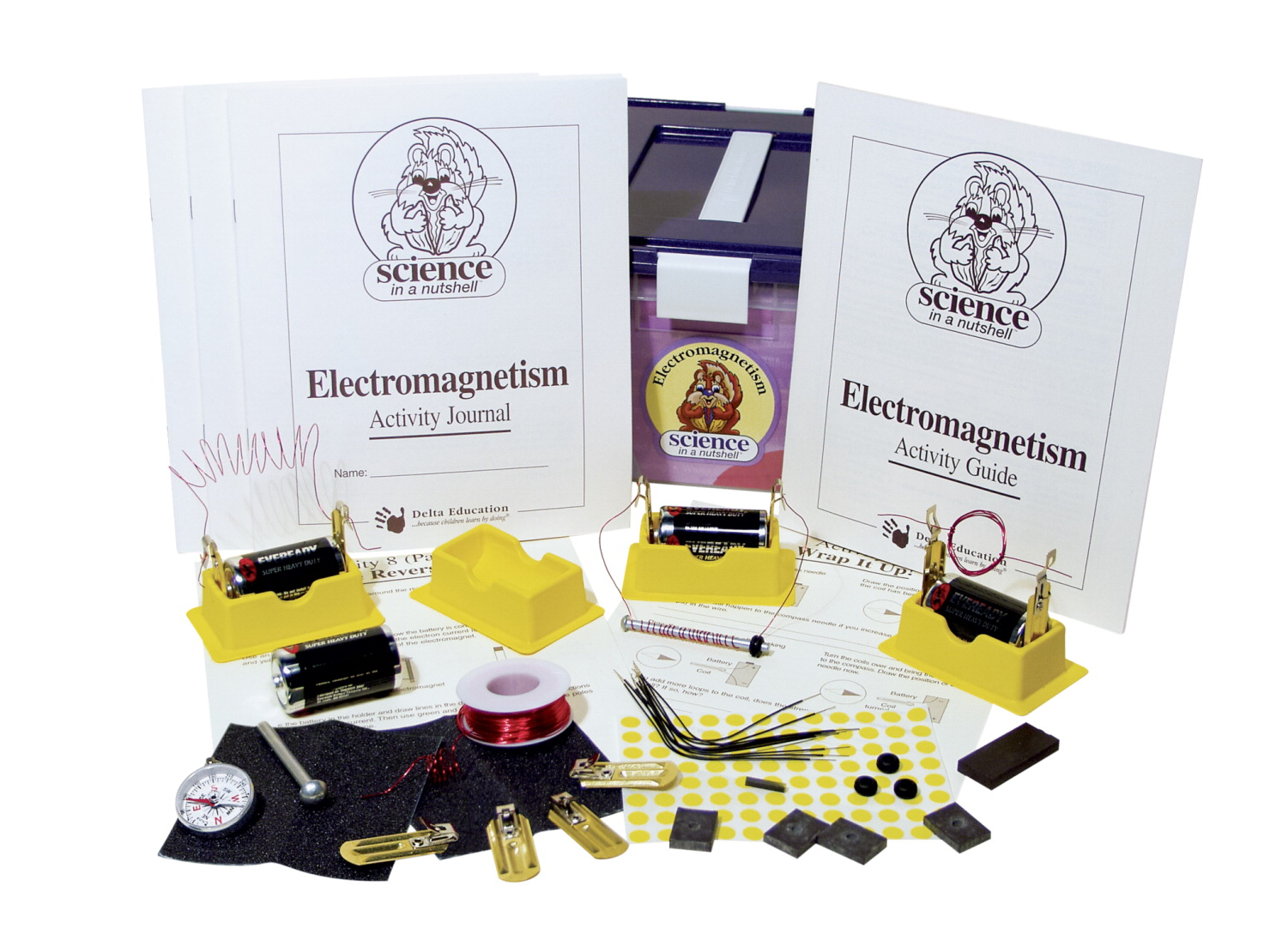 Science in a Nutshell Electromagnetism Kit