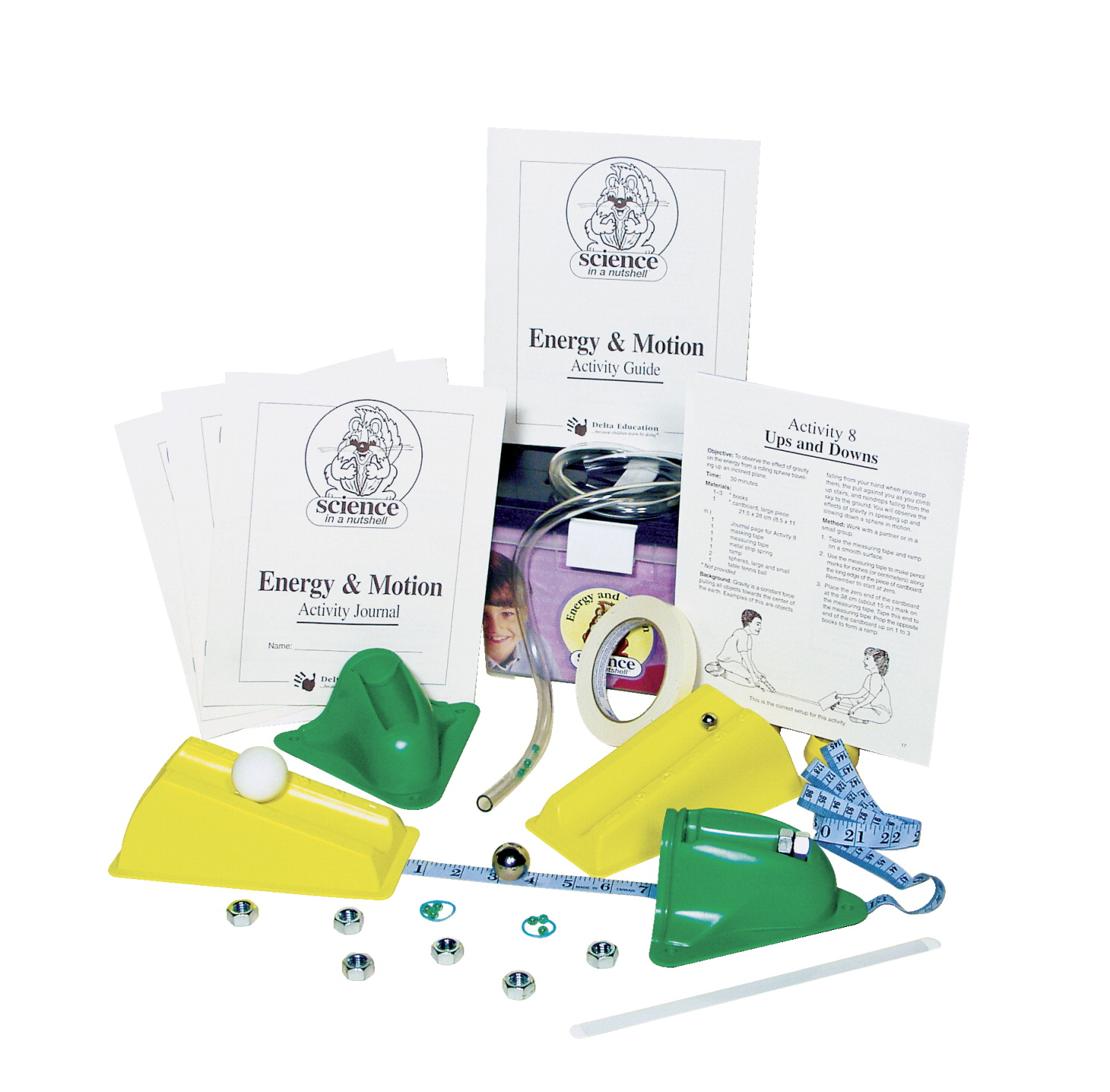 Delta Science in a Nutshell Energy and Motion Kit