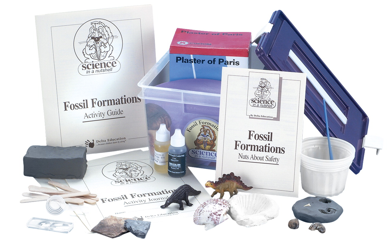 Delta Science in a Nutshell Fossil Formations Kit