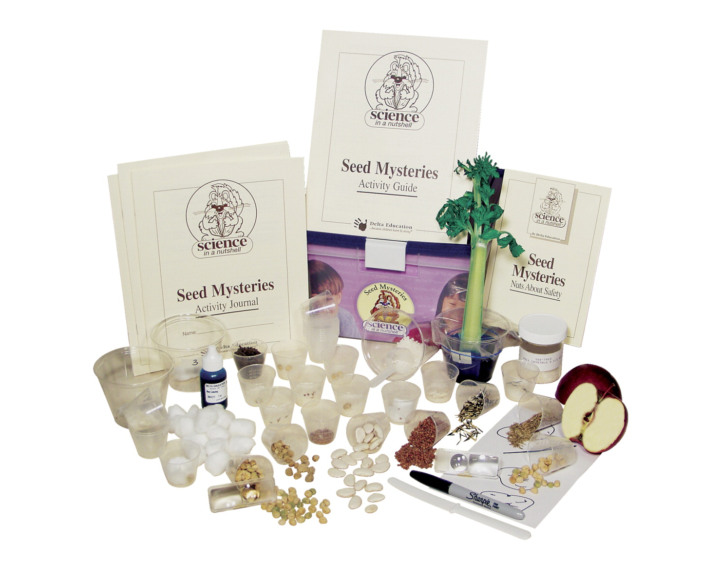 Delta Science in a Nutshell Seed Mysteries Kit