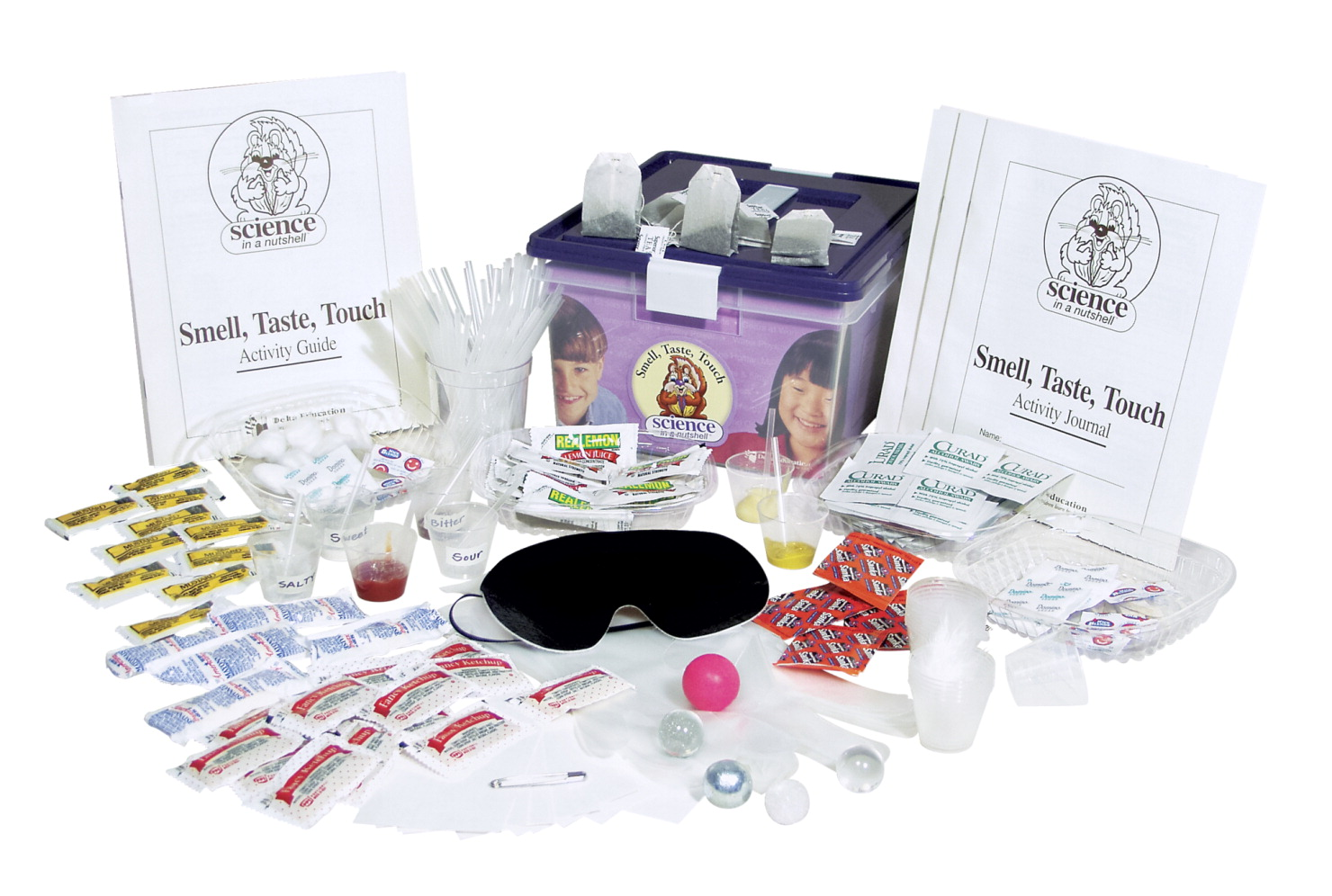 Science in a Nutshell Smell, Taste, Touch Kit