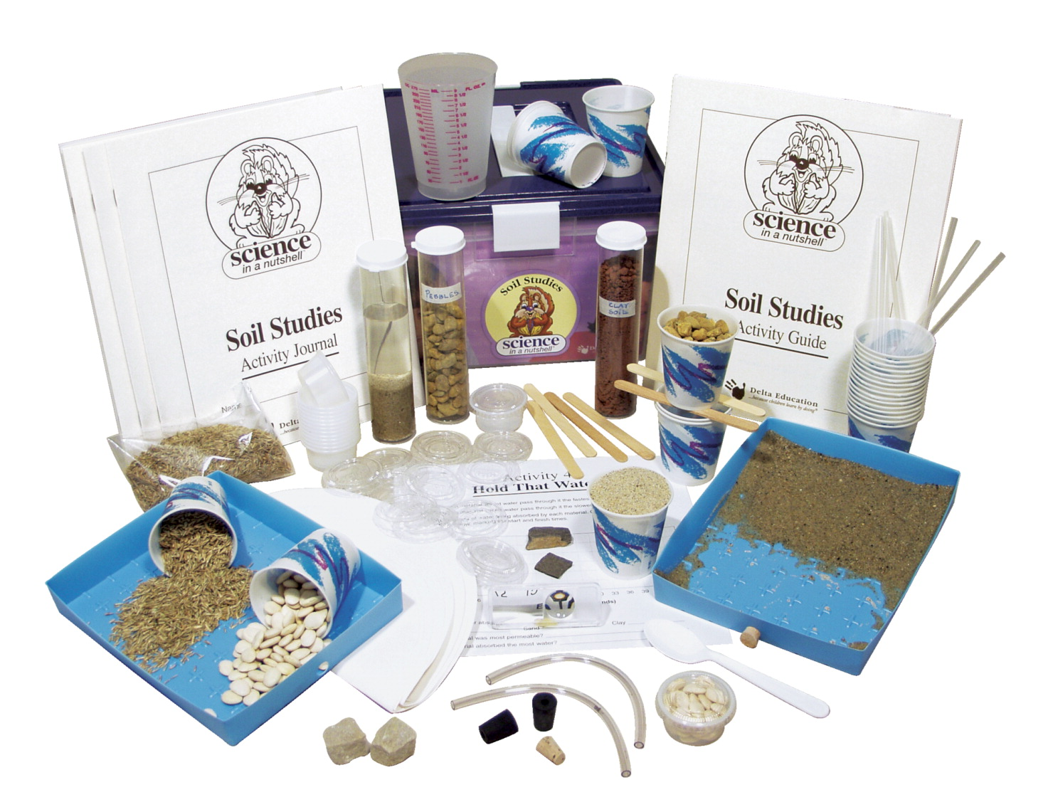 Delta Science in a Nutshell Soil Studies Kit