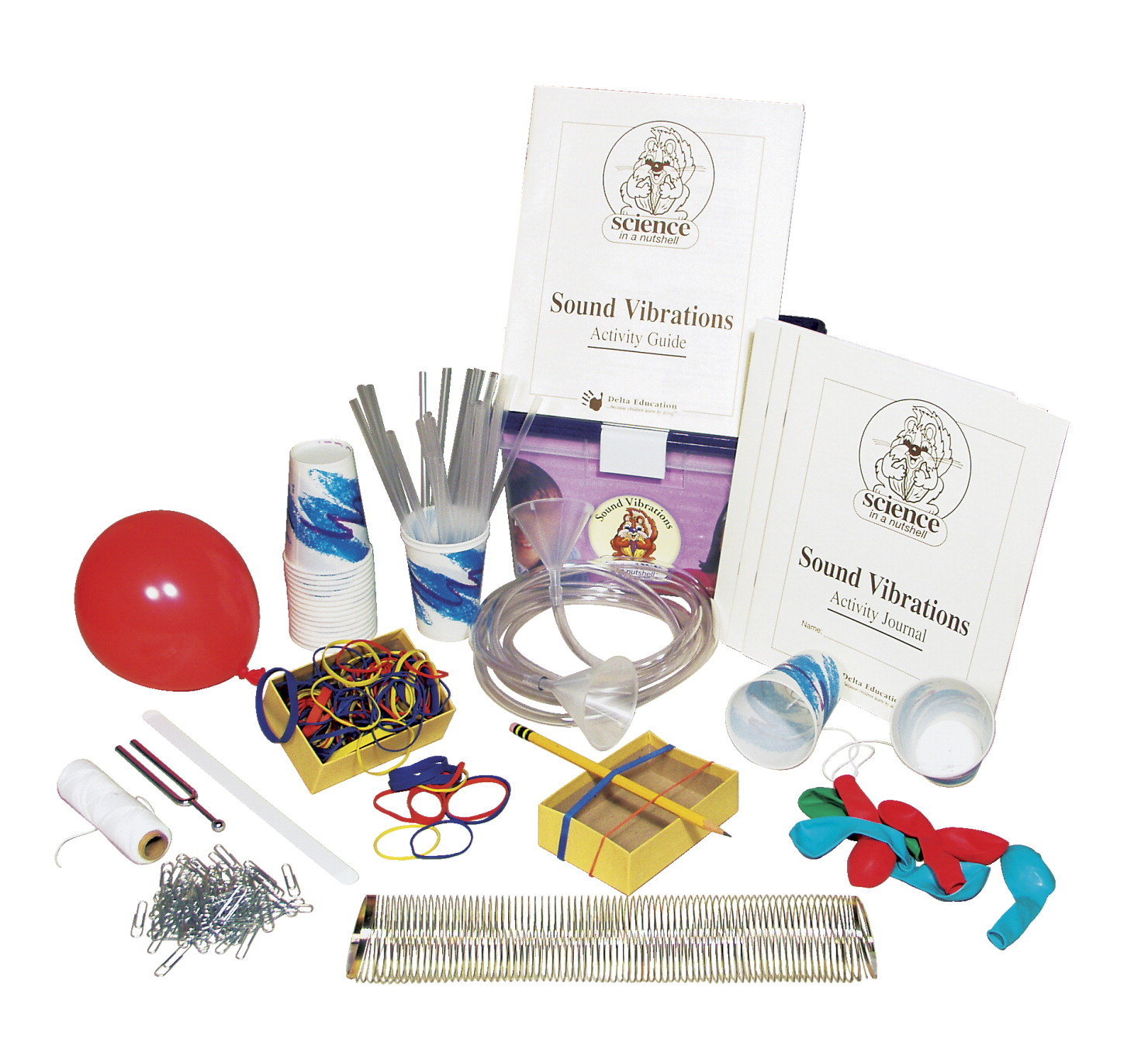 Delta Science in a Nutshell Sound Vibrations Kit
