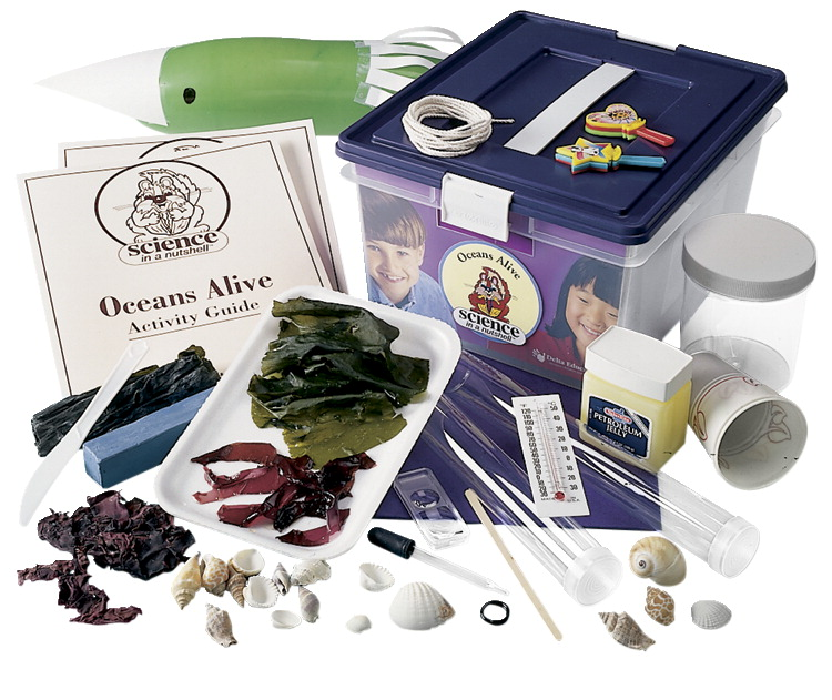 Delta Science In A Nutshell Oceans Alive! Kit, Grades 3 to 6