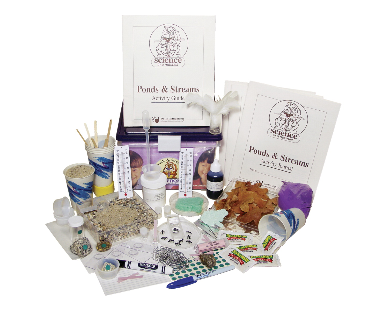 Science in a Nutshell Ponds and Streams Kit