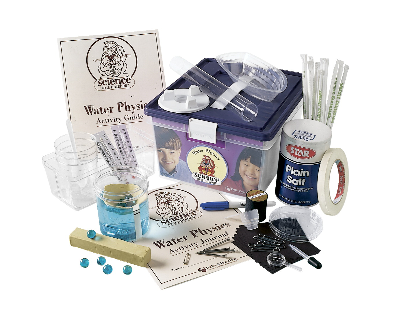 Delta Science in a Nutshell Water Physics Kit