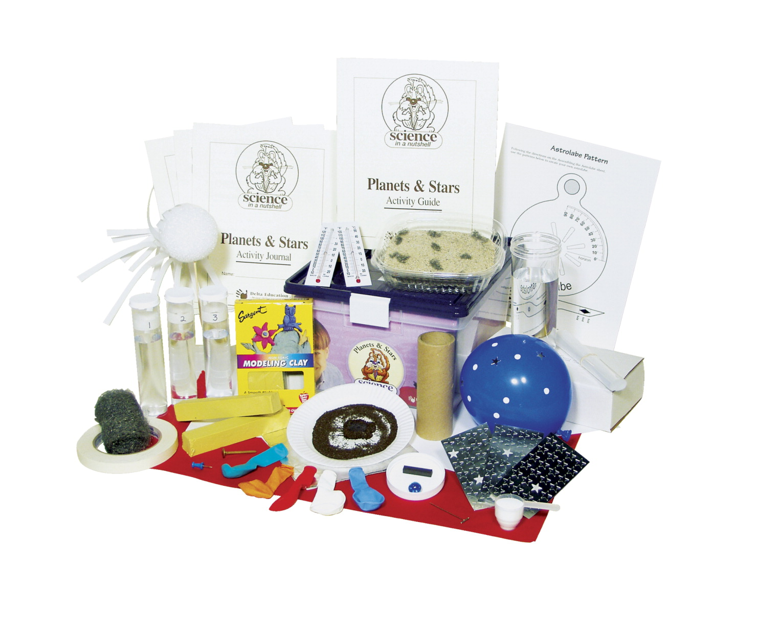 Delta Science in a Nutshell Planets and Stars Kit