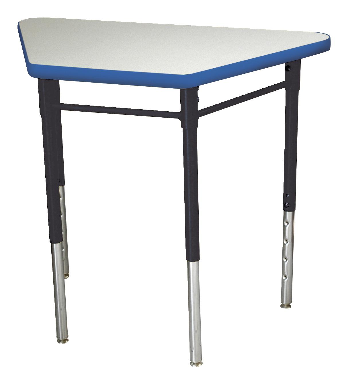 Royal Seating Prima Learning Circle Desk, Gray Nebula - SCHOOL ...