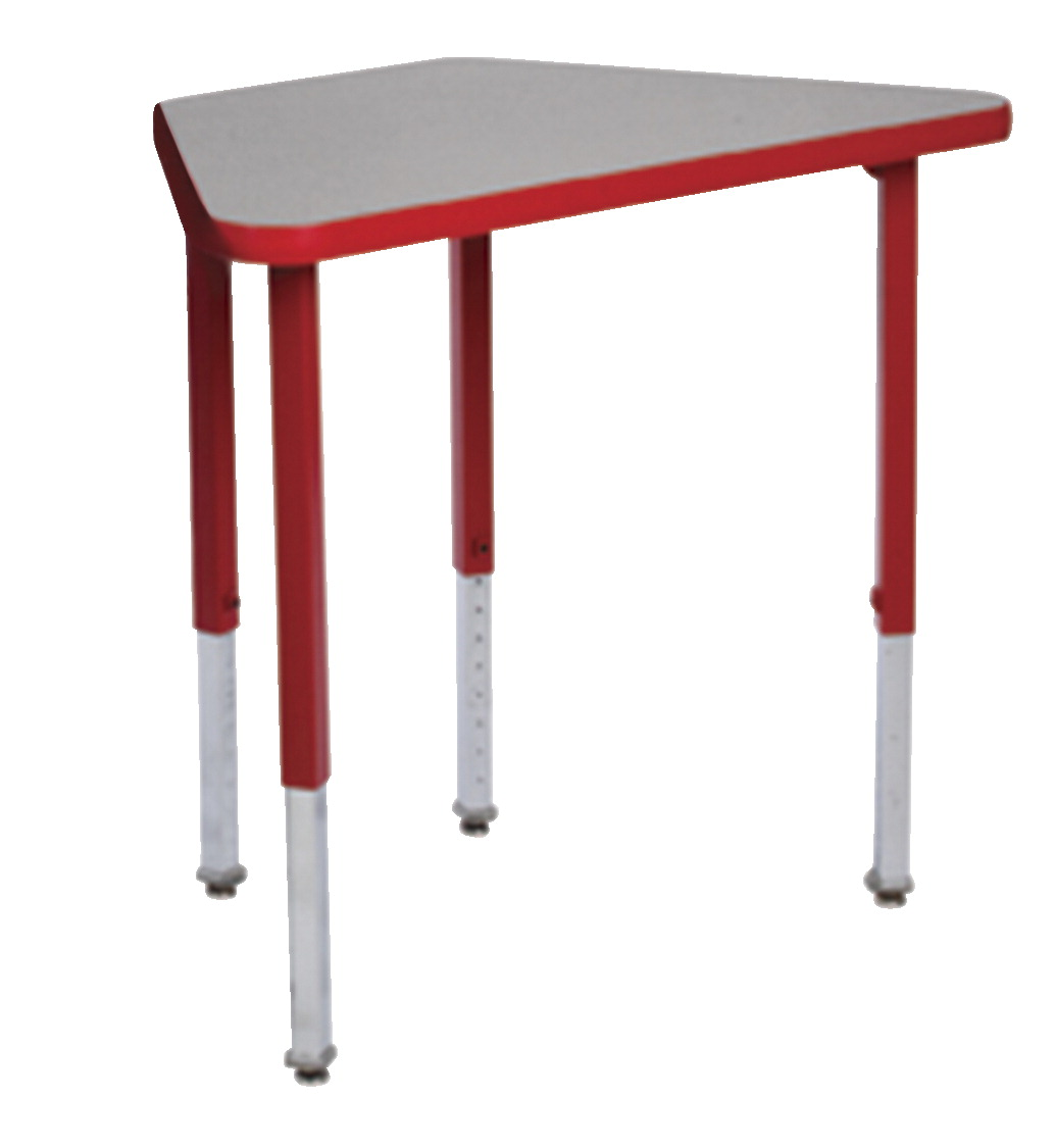 Royal Seating Prima Learning Circle Adjustable Height Desk, 15 x 20 x 32 Inches, Various Options