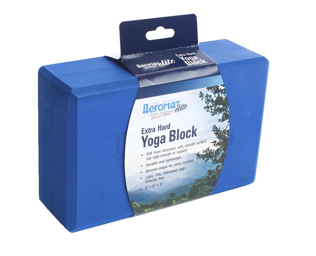 Aeromat Yoga Block Blue Soar Life Products