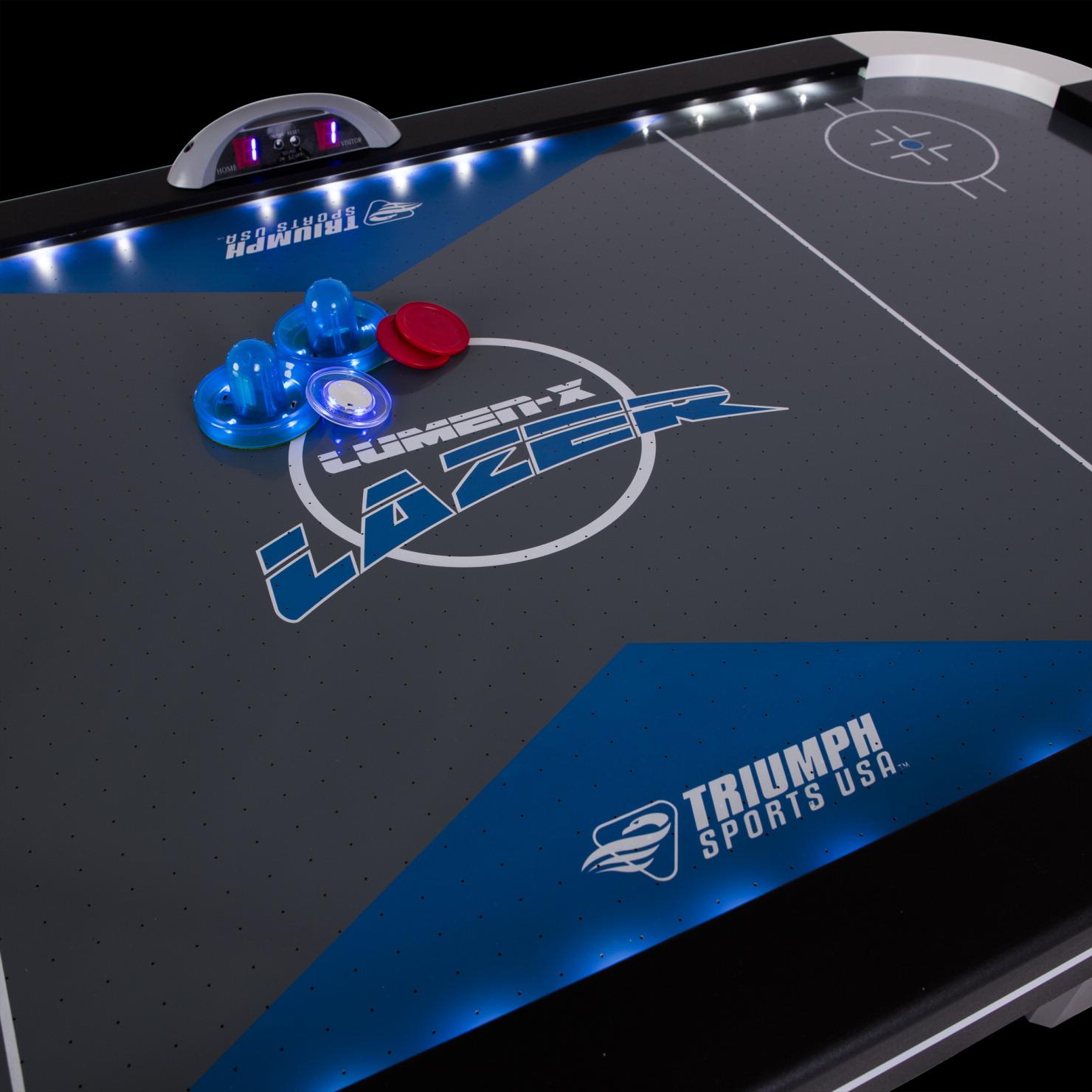 triumph air hockey table soar life products