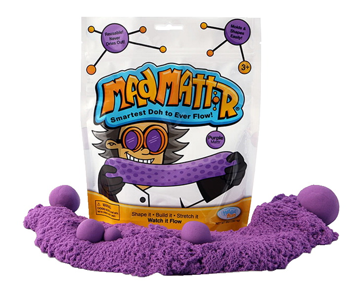 Mad Mattr Dough Pack, 10 Ounces, Purple