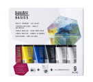 Liquitex BASICS Wet-on-Wet Technique Set, 9 Pieces