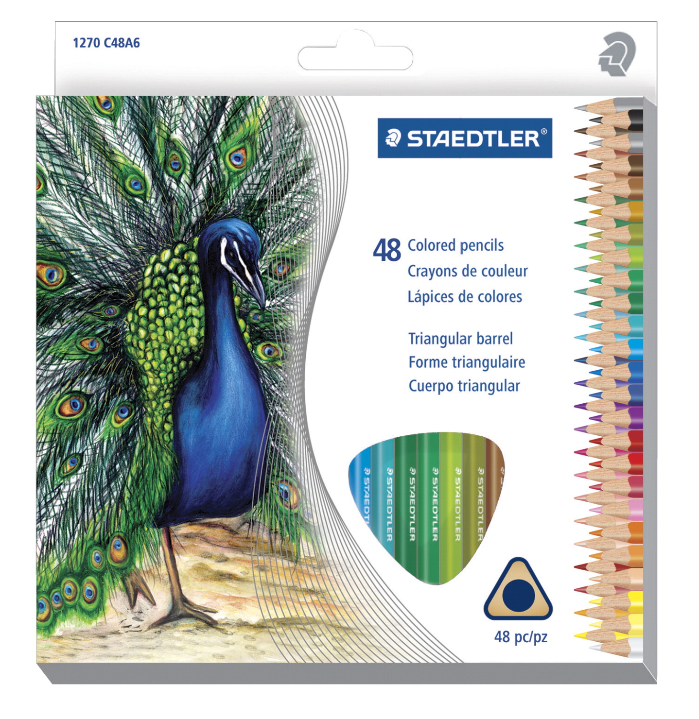 Staedtler Colored Pencils, Set of 48
