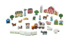 Melissa & Doug Wooden Farm and Tractor Play, Set of 33