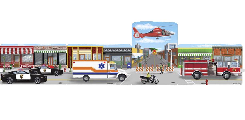 Melissa Amp Doug Emergency Rescue Linking Puzzle School