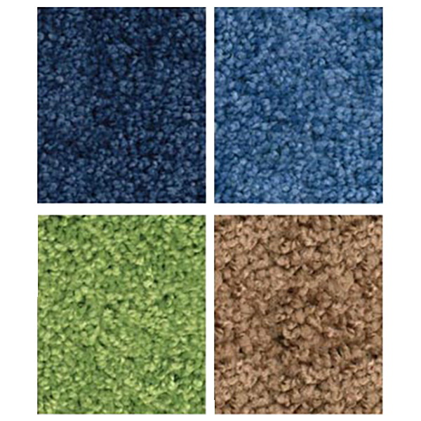 Carpets for Kids KIDplush Solids, 4 x 6 Feet, Rectangle, Various Options