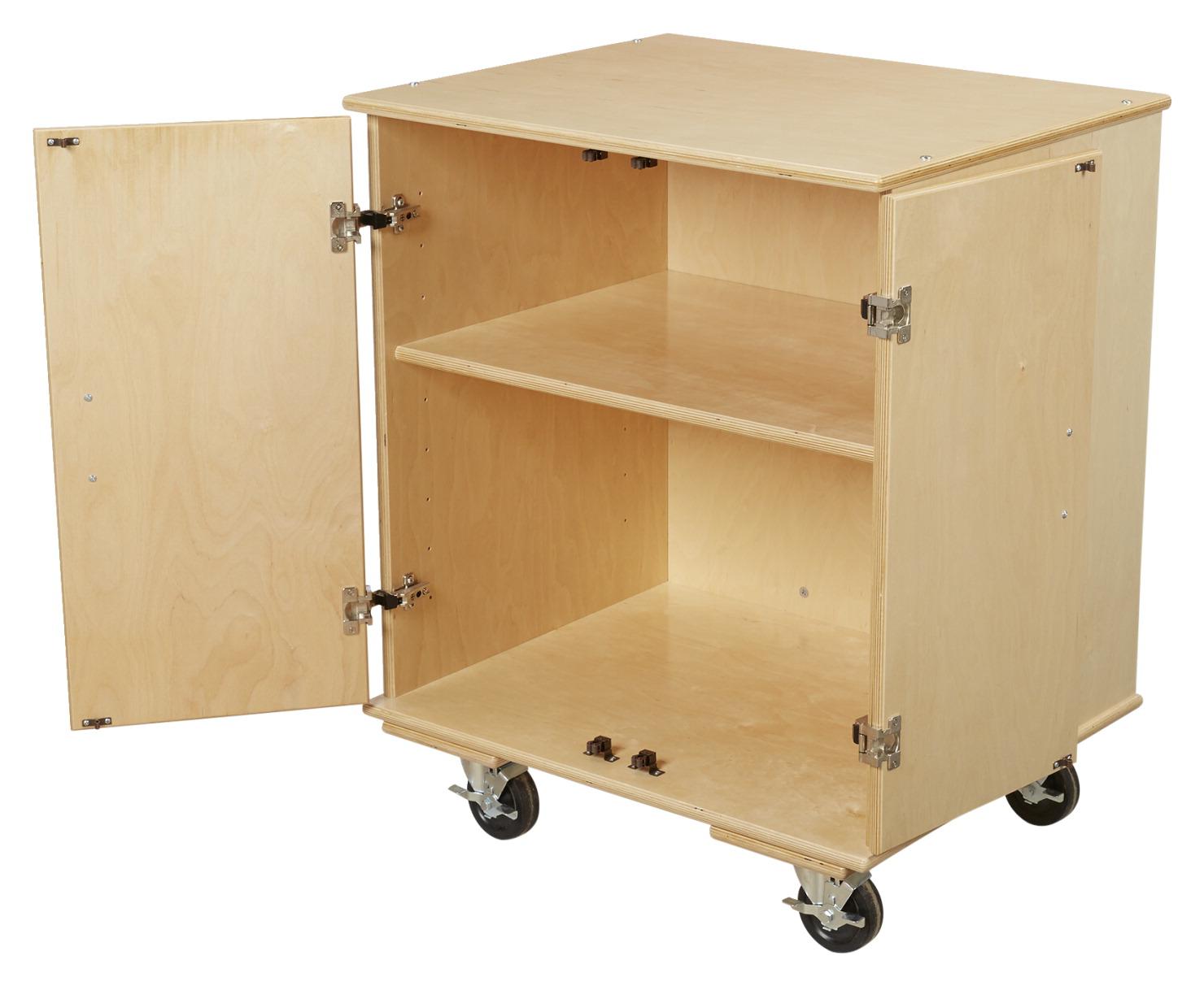 Portable Storage Cabinet Short : Classroom select storage cabinet school specialty canada