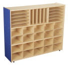 Childcraft ABC Furnishings 3-Shelf Storage Unit