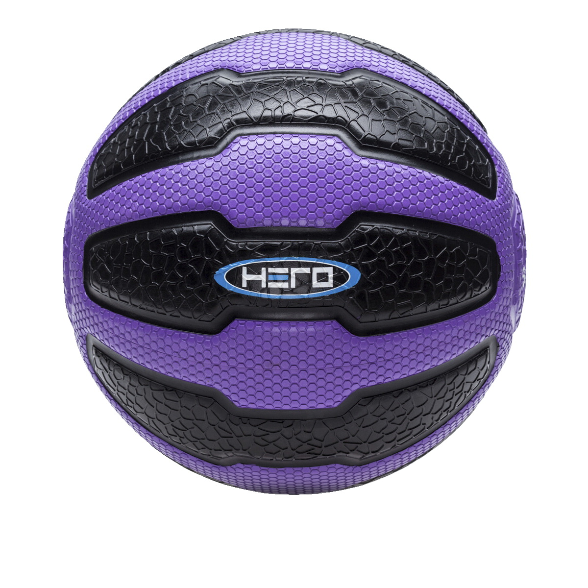 HERO Medicine Ball, 18 Pounds, Purple