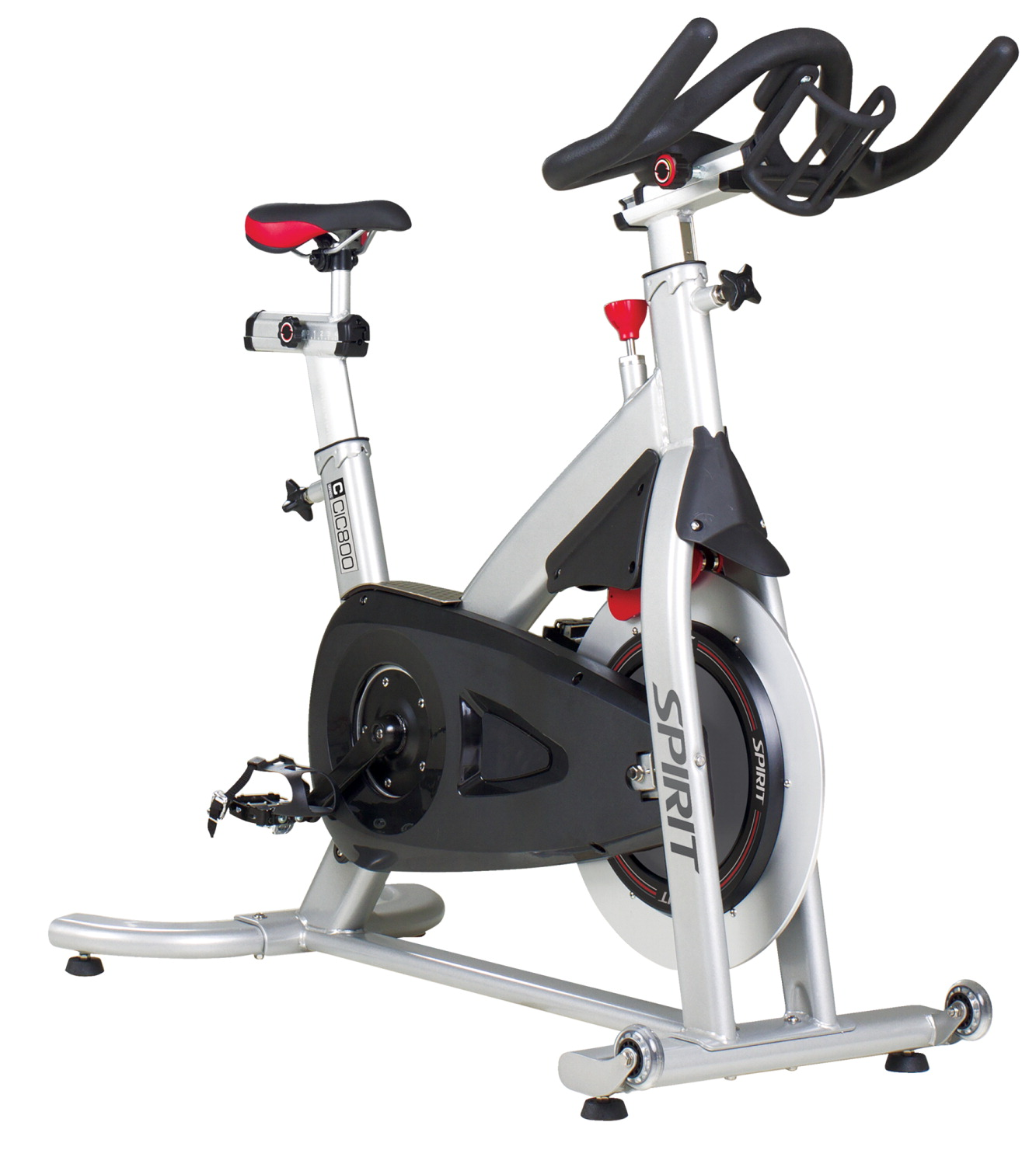 Spirit CIC800 Indoor Cycle Trainer, 42 x 21 x 41 Inches