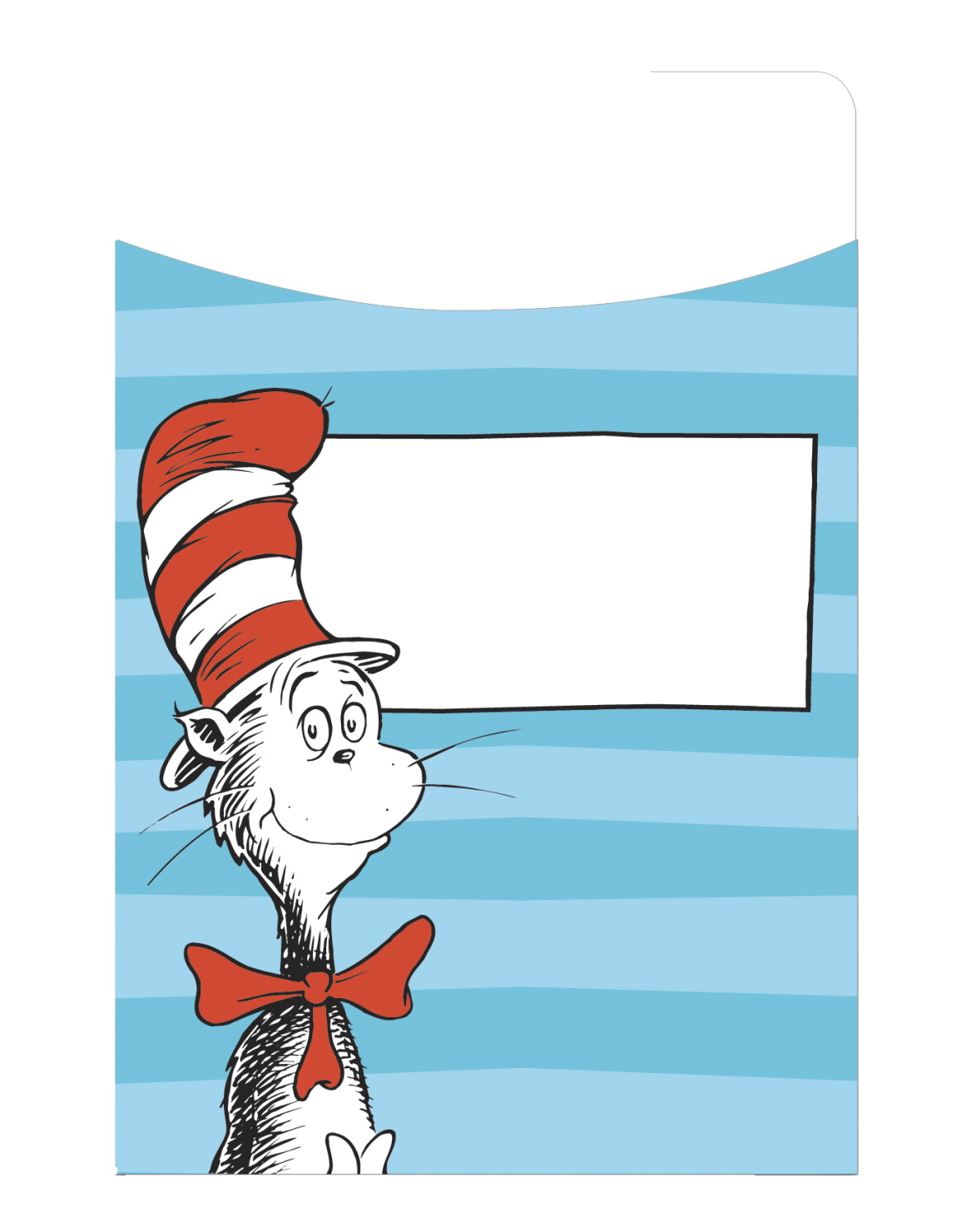 Eureka Dr. Seuss Classic Library Pockets, 3-1/2 x 5-1/2 Inches, Pack of 35