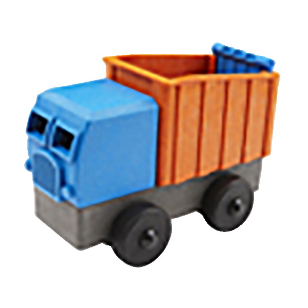 EcoTruck Dump Truck Stacking Puzzle, 4 Piece Set