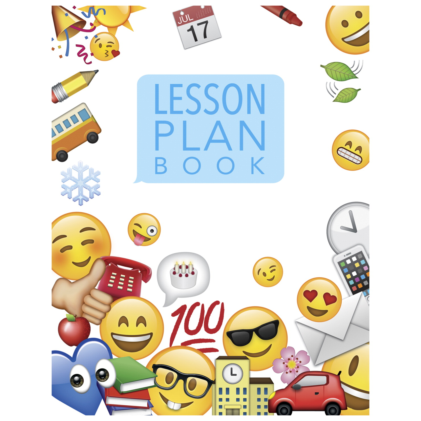 Creative Teaching Press Emoji Fun Lesson Plan Books Offer 2 Page Spreads For 40 Weeks Of Features Parent Contacts Birthday Charts