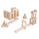 Guidecraft Unit Block Set B, Set of 56