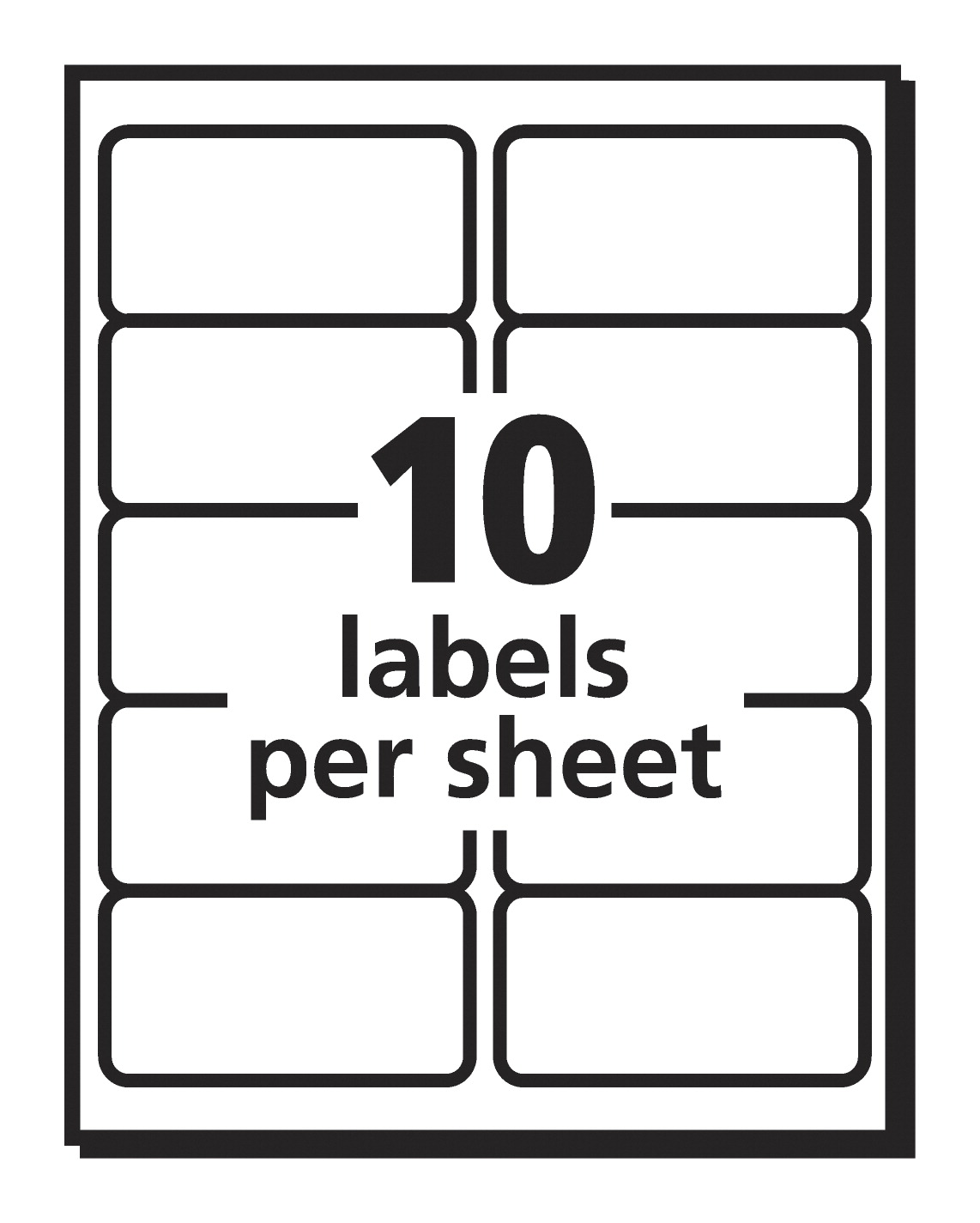 avery 5963 shipping labels with trueblock white soar life products
