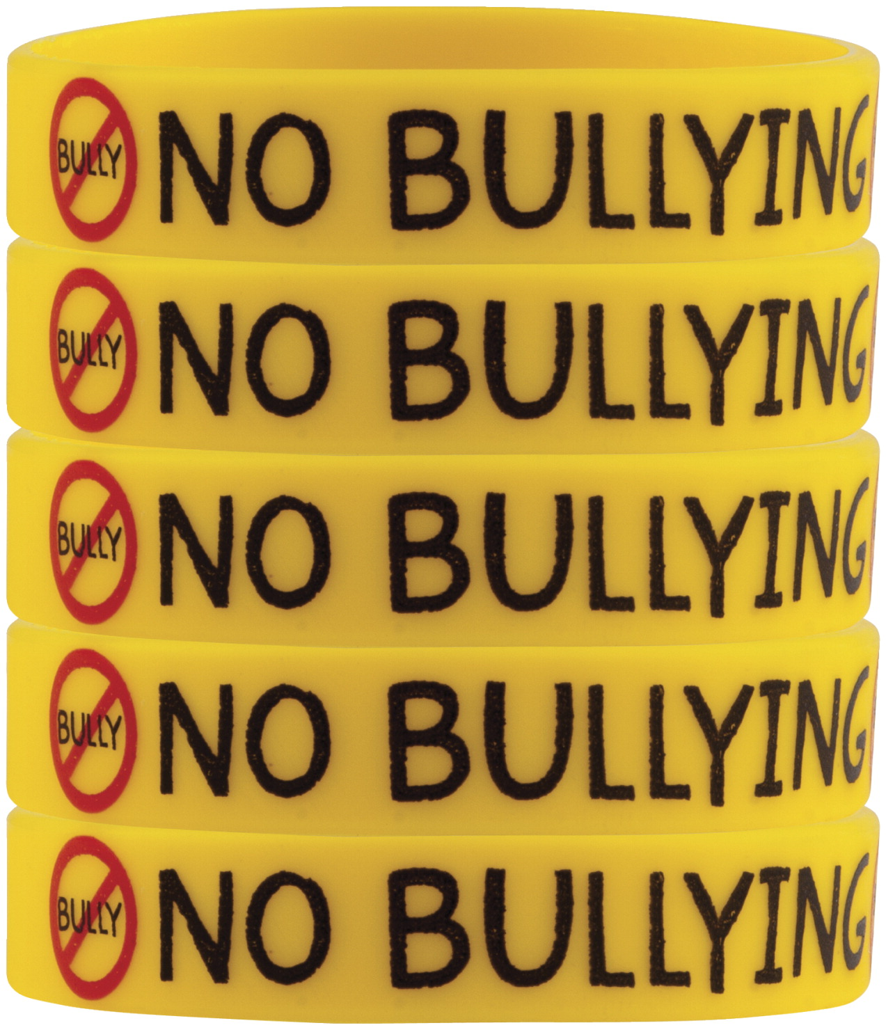 Teacher Created Resources Wristbands, No Bullying, Pack of 10
