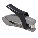 Officemate Effortless Desktop Stapler, Full Strip, Silver/Black