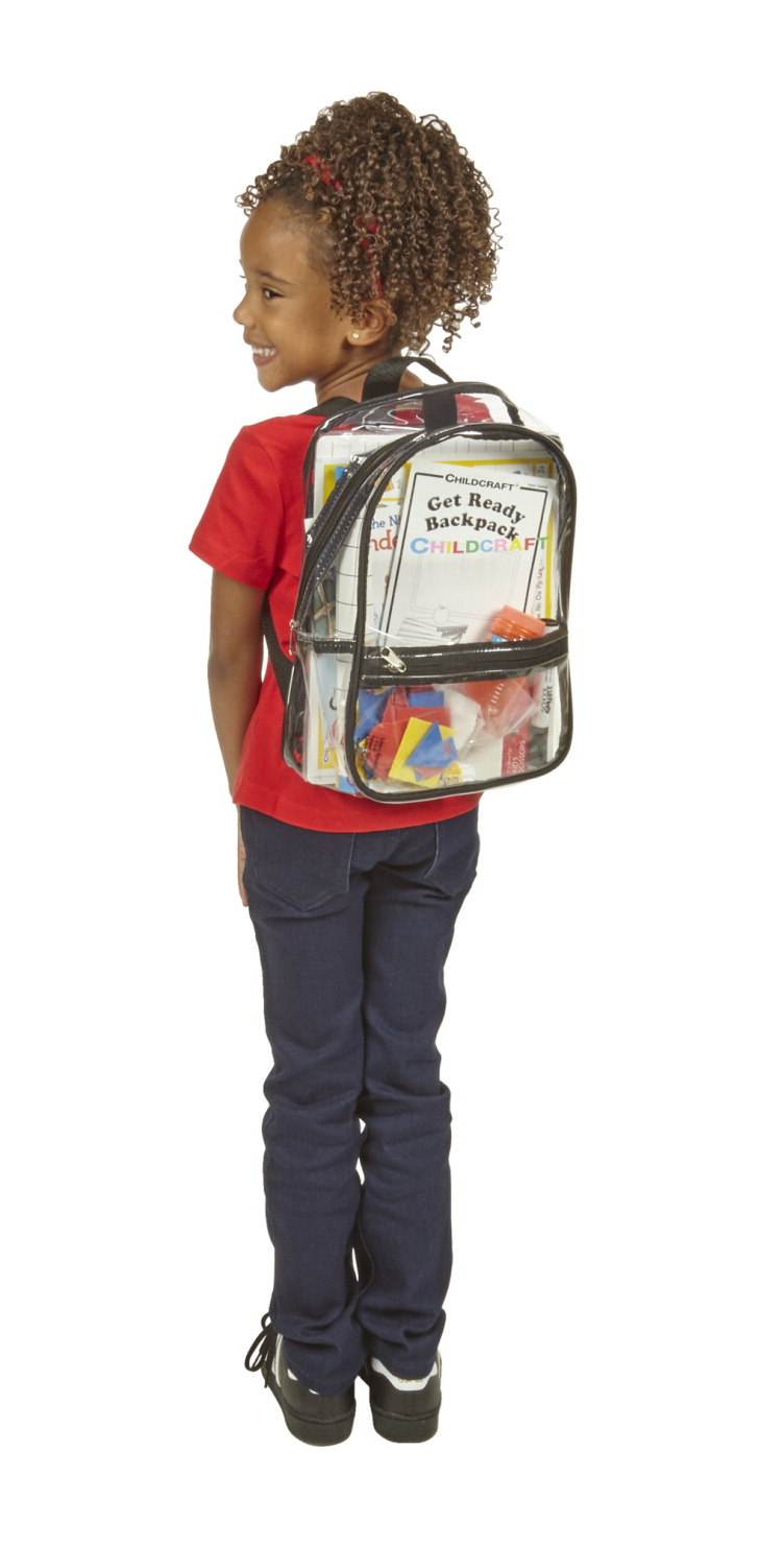 Childcraft Kindergarten Readiness Backpack, English